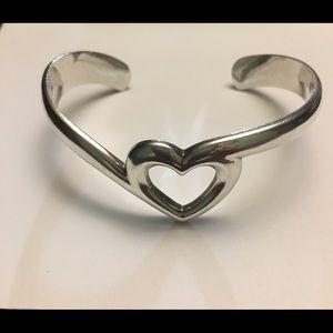 James Avery heart cuff bracelet